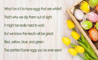 Short Easter Poems for Scrapbooks