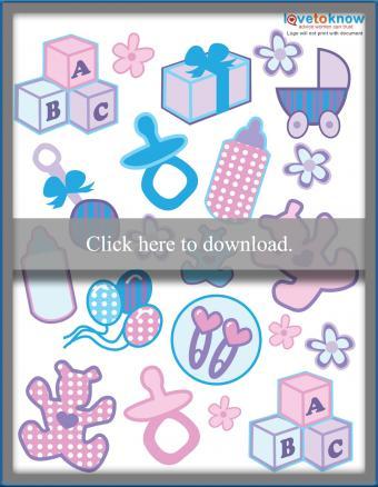 baby printable stickers printable pdf