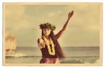 Hawaiian Theme Scrapbook