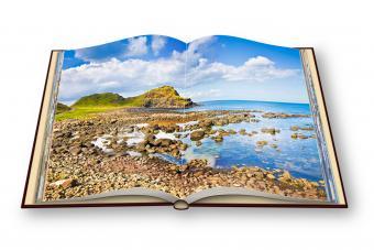 open book using 3D rendering