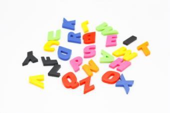 Alphabet Paper Punches