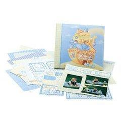 Noah's Ark Scrapbook Layout