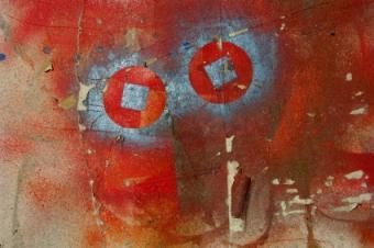 Painted Canvas Scrapbook Paper