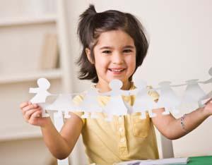 How to Make Cricut Paper Dolls