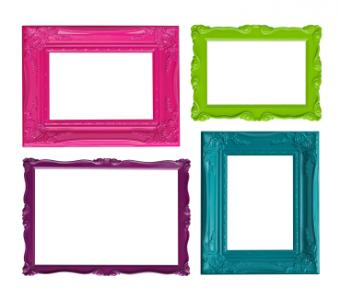frame stickers made with Xyron Creatopia