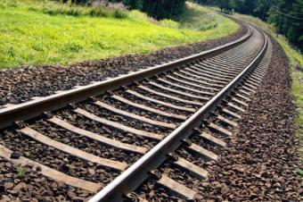 Train Track Scrapbook Layouts
