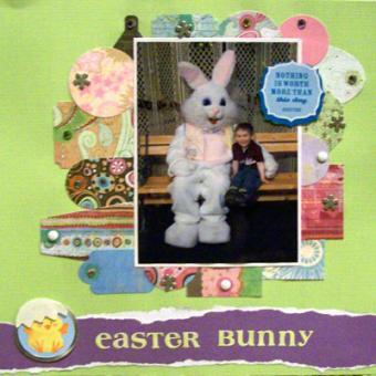 Easter Scrapbook Ideas