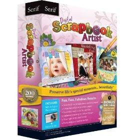 Serif Digital Scrapbook Artist