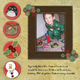 Digital Scrapbooking Ideas for Holiday Layouts