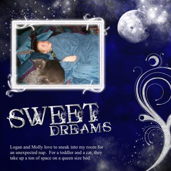 Digital Scrapbook Layout Ideas for Baby and Children