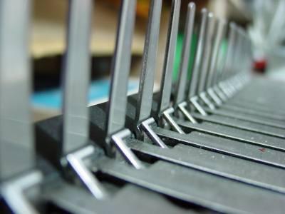 comb binder close up