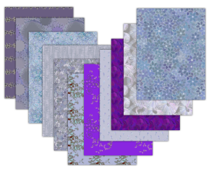 purple scrapbook paper