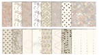 beige digital scrapbook patterns