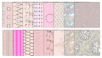 pink digital scrapbook patterns