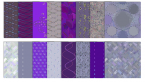 purple digital scrapbook patterns