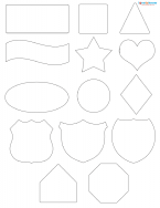 basic scrapbook pattern shapes