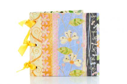 Mini scrapbook; copyright Akiyoko74 at Dreamstime.com