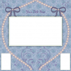 wedding scrapbook layout 3