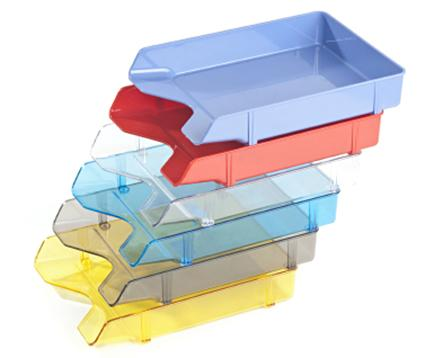 stacking paper trays