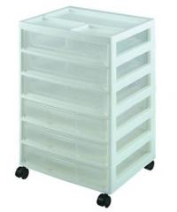 Charmant Drawer Storage Units. Scrapbook Cart