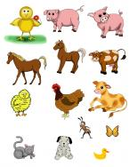 animal scrapbook clipart