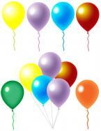 balloon scrapbook clip art