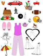 miscellaneous scrapbook clip art