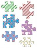 puzzle pieces scrapbook clip art