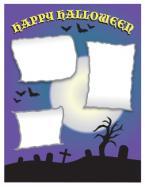 Halloween scrapbook layout 2