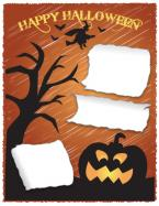 Halloween scrapbook layout 3