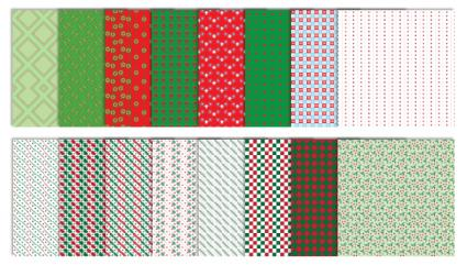 Neutral Christmas Scrapbook Patterns