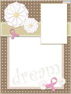 breast cancer scrapbook layout 4