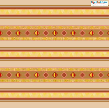 Native American Scrapbook Paper