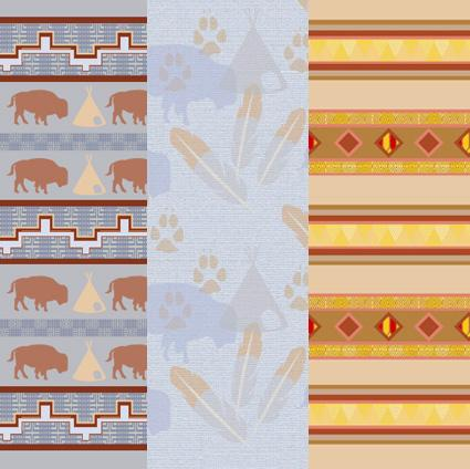 Native American scrapbook paper primary image