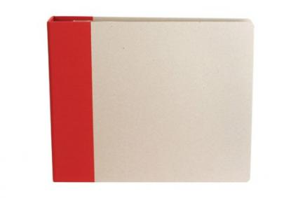 American Crafts 12-Inch by 12-Inch D-Ring Modern Scrapbooking Album, Cardinal from Amazon.com