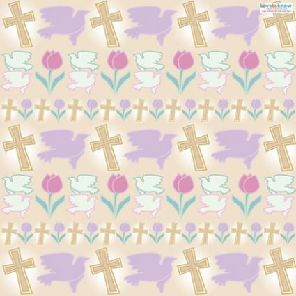 photograph about Free Printable Paper Designs named Easter Sbook Paper LoveToKnow