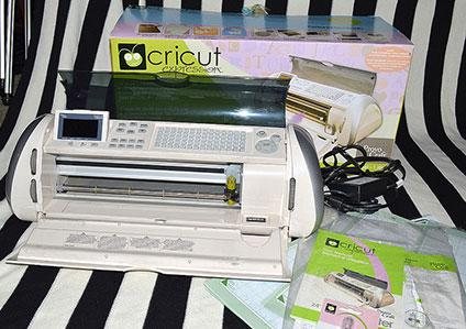 Cricut die cutting machine
