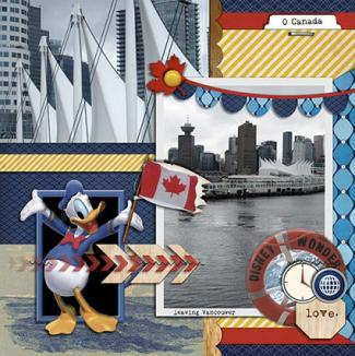 Disney Cruise Photography & Layout by Sharon Albright