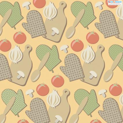 Kitchen scrapbook paper 1