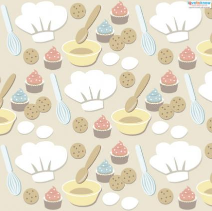 Kitchen scrapbook paper 2