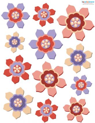 free digital scrapbooking flowers