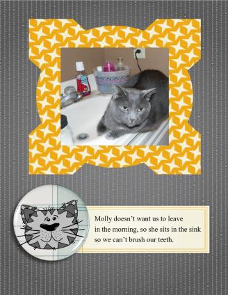 Cat Themed Scrapbook Page Ideas Lovetoknow
