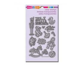Baby Toys stamp set from Addicted to Rubber Stamping