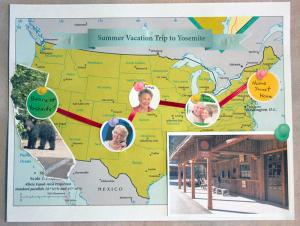 Map Scrapbook Page