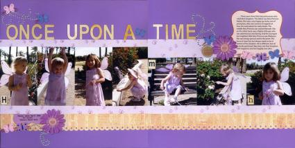 Once Upon a Time Scrapbook