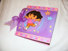 Dora the Explorer Scrapbook