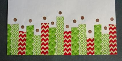 washi tape border