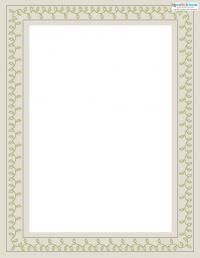 Printable Scrapbooking Borders vines 2