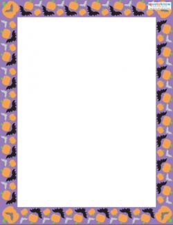 Printable Scrapbooking Borders Halloween 1