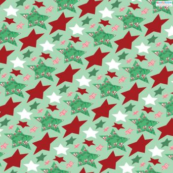 Star patterned paper